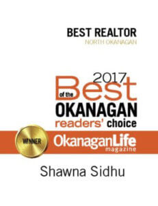 OkanaginLife Magazine 2017 Winner of the Best of the Okanagan